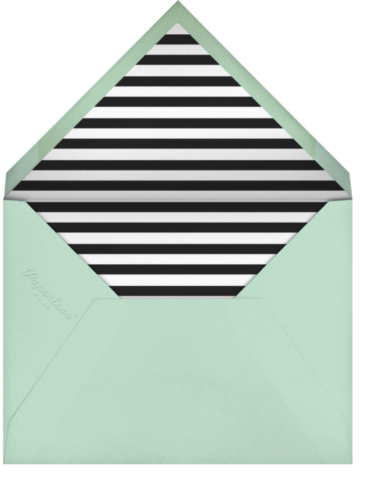 Decade Photo (Seventy) - Black - Paperless Post - Adult birthday - envelope back