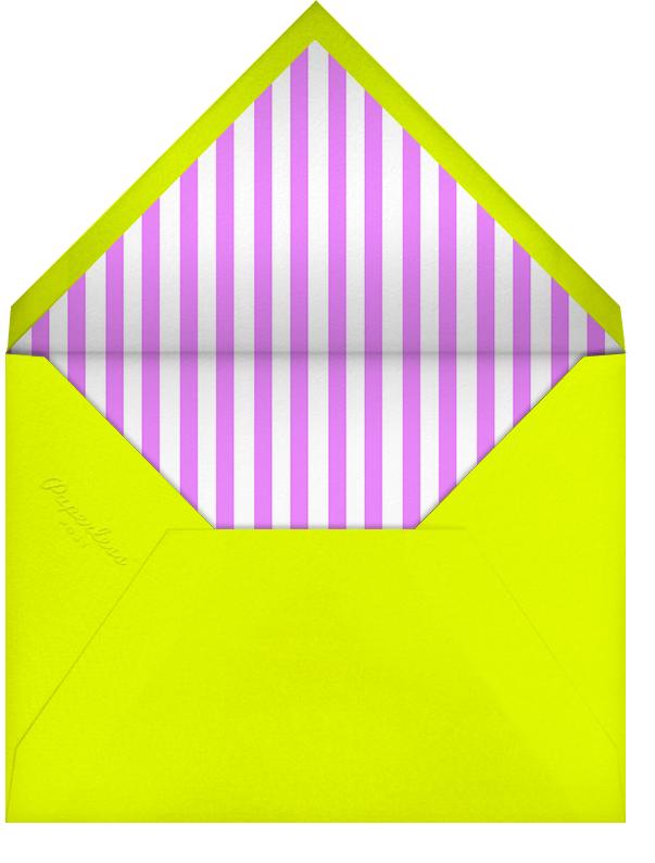 Montreal 1976 - Neon Orange - Paperless Post - Housewarming - envelope back