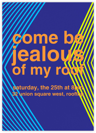 Montreal 1976 - Indigo - Paperless Post - Housewarming party invitations