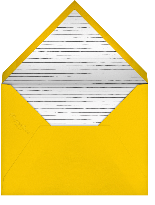 Scattered Pencils - Paperless Post - Charity and fundraiser  - envelope back
