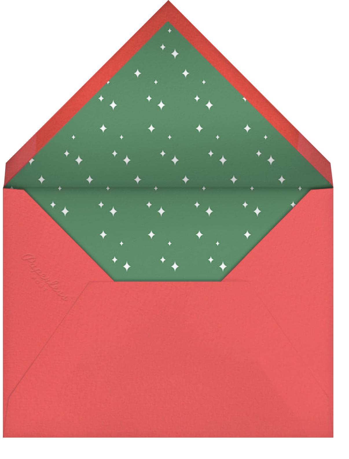 Cookie Tray - Paperless Post - Cookie swap - envelope back