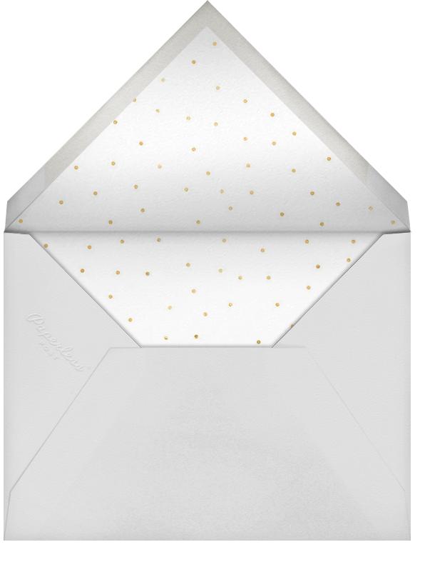 Scallop Party - Sugar Paper - Kids' birthday - envelope back