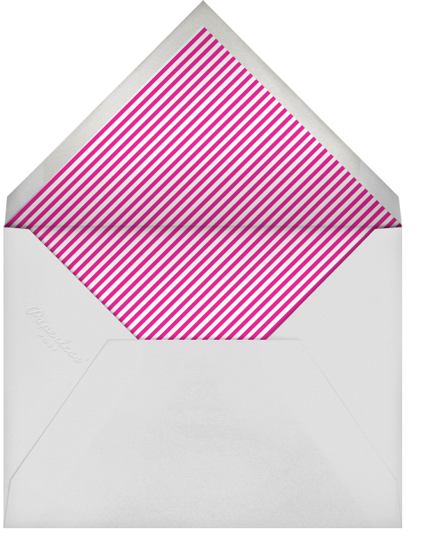 Gradient White Border - Pink - Paperless Post - Cocktail party - envelope back