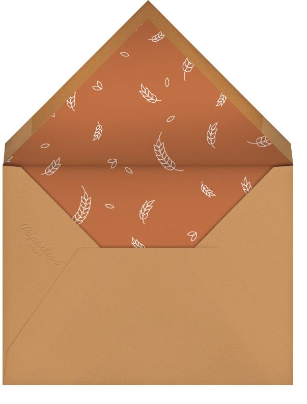 Burnt Caramel (Square) - Paperless Post - Fall parties - envelope back