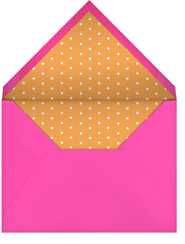 Gradient Messy Strokes - Pink - Paperless Post - Bachelorette party - envelope back