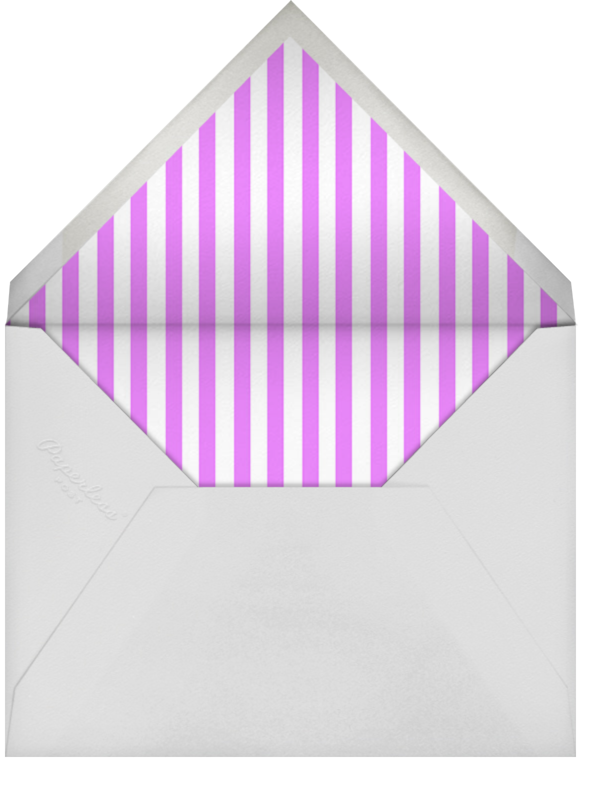 Center Cut Out - Paperless Post - Party save the dates - envelope back