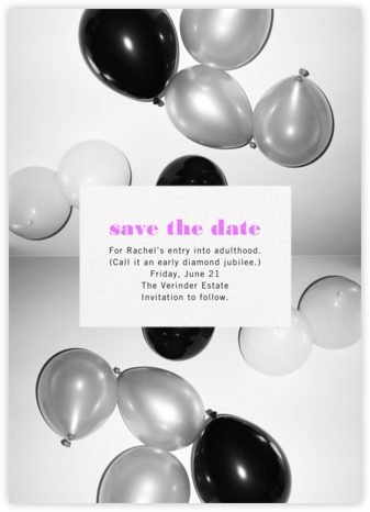 Center Cut Out - Paperless Post - Online Party Invitations