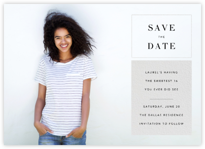 Chronicle (Save the Date) - Paperless Post - Online Party Invitations