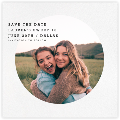 Vignette (Save the Date) - Paperless Post -