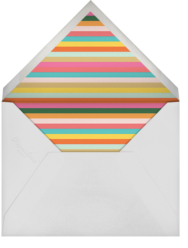 Candle Stand - Rifle Paper Co. - Birthday save the dates - envelope back