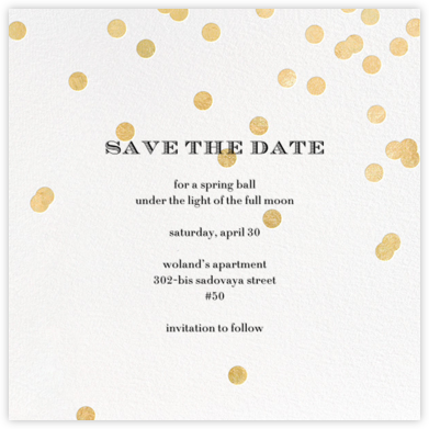 Come Celebrate - Ivory/Gold - kate spade new york -