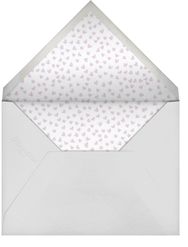 Save the Date Handwriting - Linda and Harriett - Birthday save the dates - envelope back