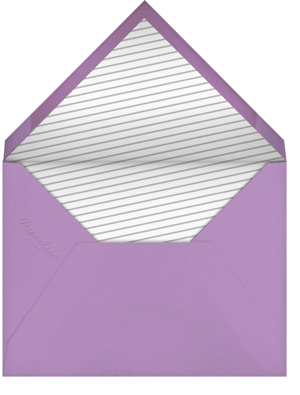 Mercer (Save the Date) - Wisteria - Paperless Post - Birthday save the dates - envelope back