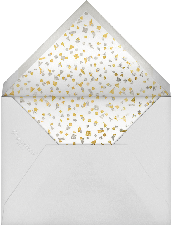 Talbot - Gold - Paperless Post - Party save the dates - envelope back
