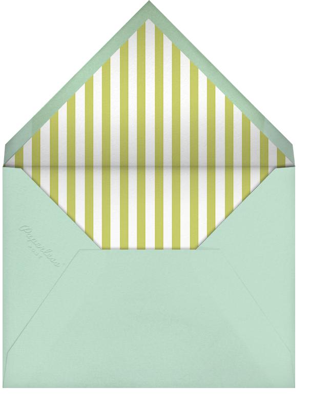 Gradient Border - Green - Paperless Post - Adult birthday - envelope back