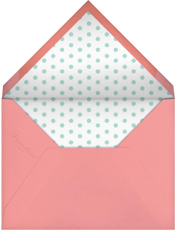 Bird Balloon - Pink  - Petit Collage - First birthday - envelope back