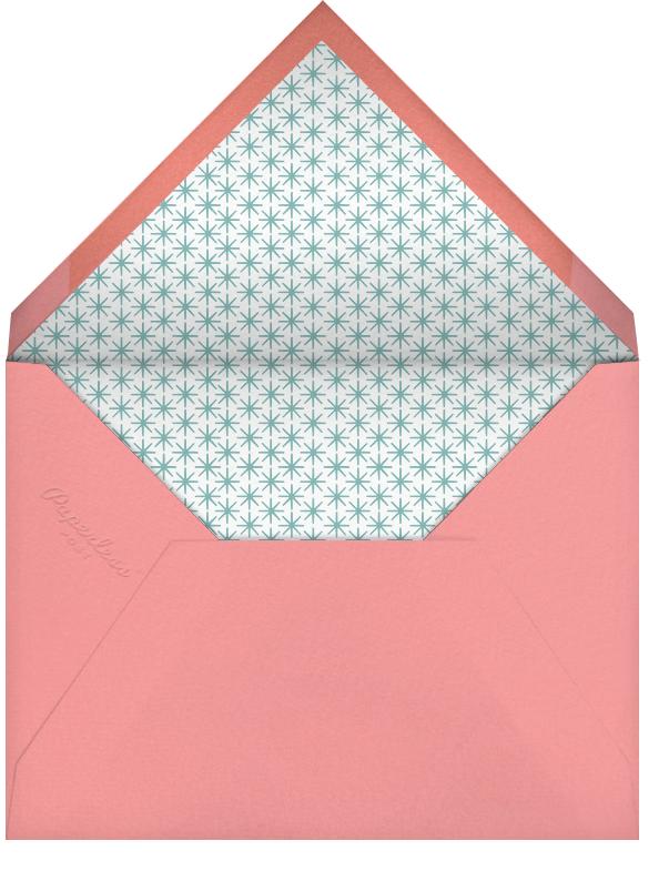 Birthday Treats - Petit Collage - 1st birthday - envelope back