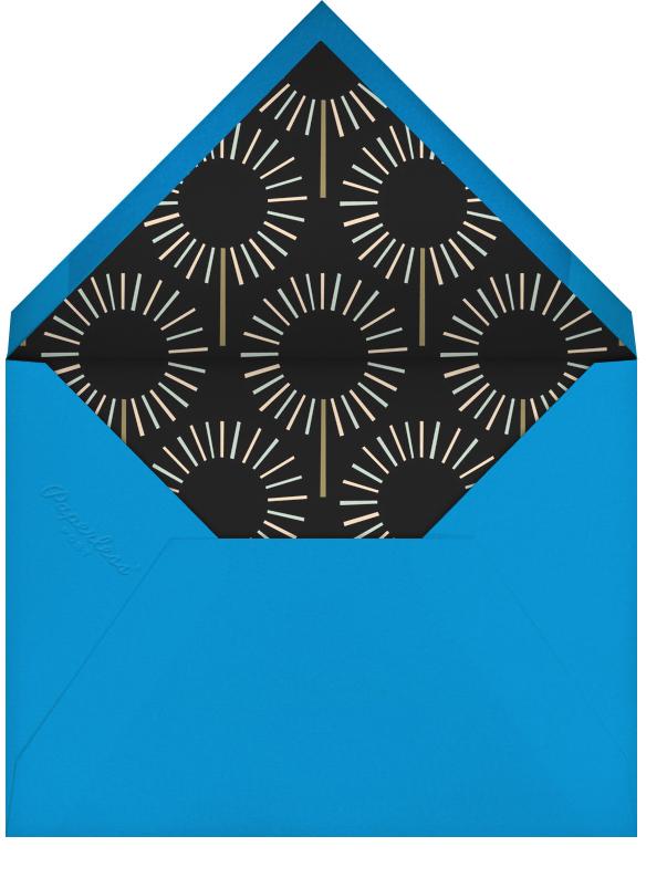 Year of the Sparkler - Gold/White - Paperless Post - 1st birthday - envelope back