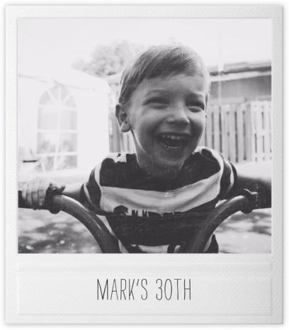 Snapshot - Paperless Post - Milestone Birthday Invitations