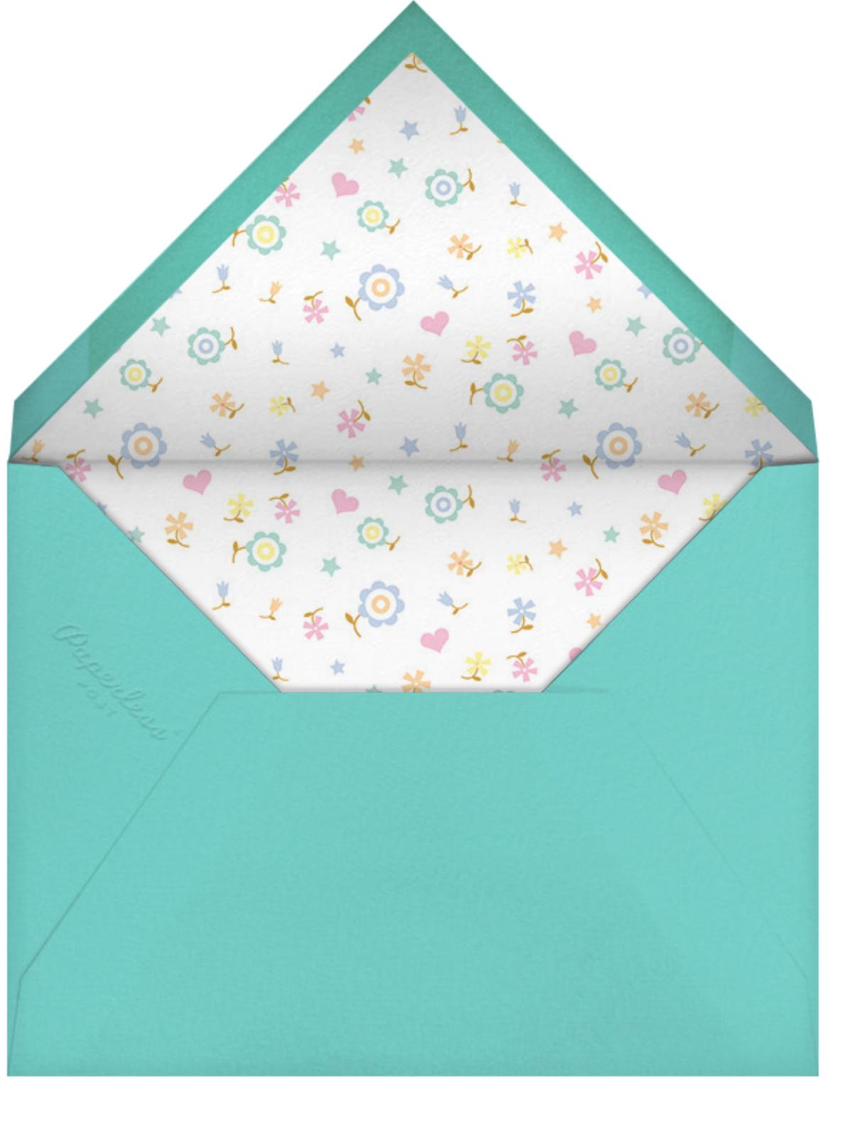 Unicorn High Five (Invitation) - Hello!Lucky - First birthday - envelope back