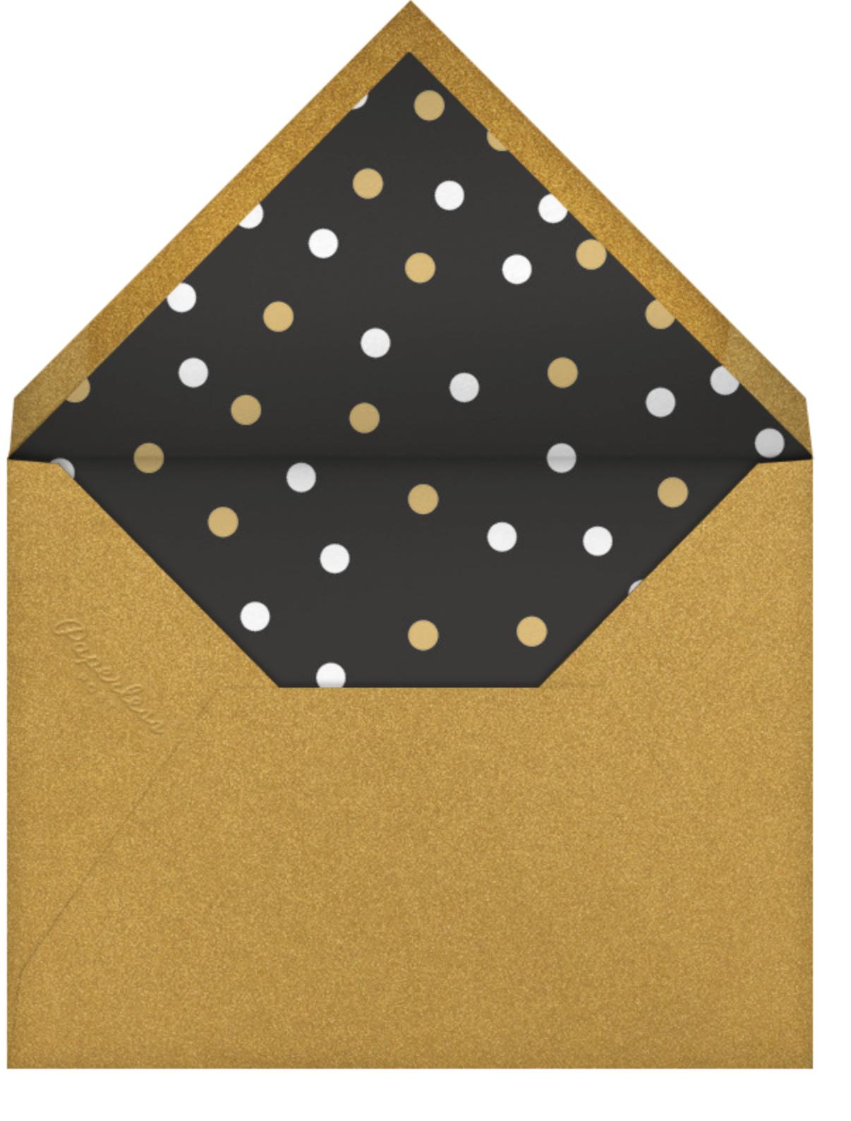 Brixton Brief Case - Black - Paperless Post - Birthday - envelope back