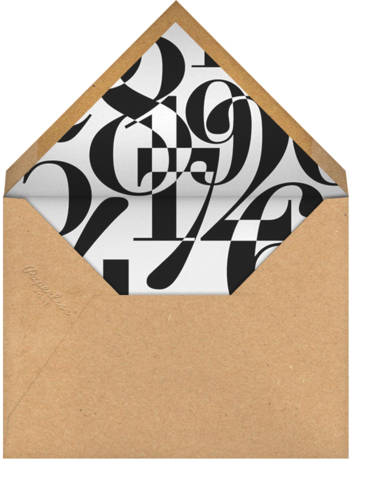 Paint Roller (Blue on Ivory) - Singular - Paperless Post - Moving - envelope back