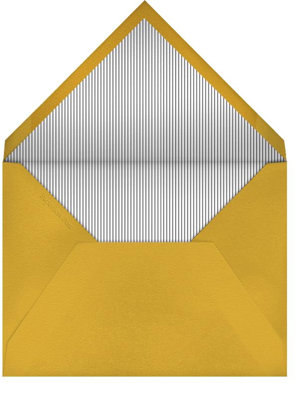 Champ Bottle - The Indigo Bunting - Engagement party - envelope back