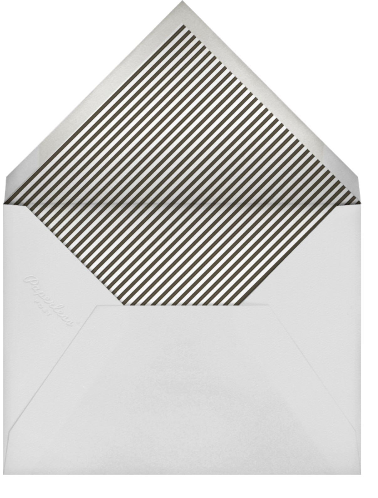 Photo Spread - White - Paperless Post - Farewell party - envelope back