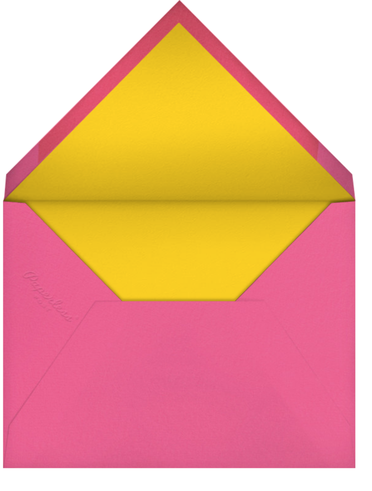 Oaxacan (Square) - White - Paperless Post - Farewell party - envelope back