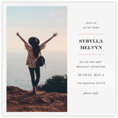 Split Square (Invitation) - Paperless Post - Farewell party invitations