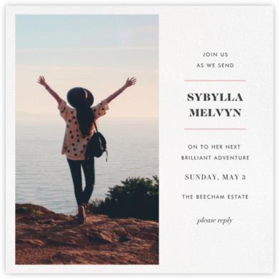 Split Square (Invitation) - Paperless Post - Farewell party invitations