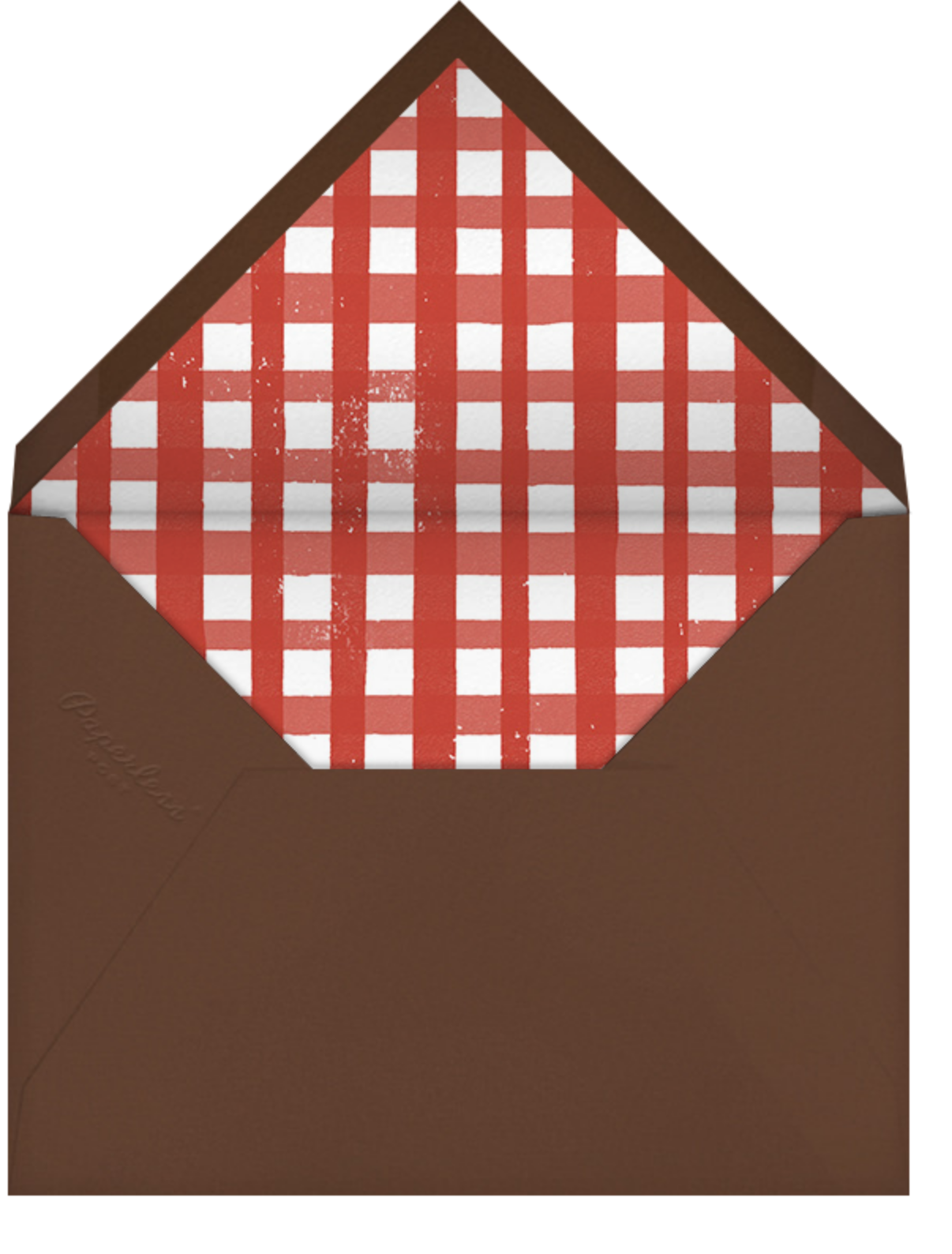 Cheeseburger - Paperless Post - Barbecue - envelope back