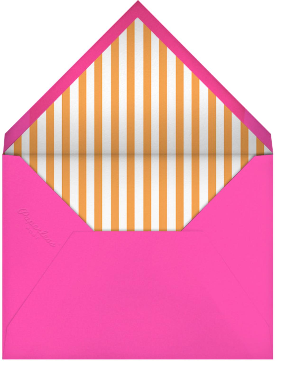 Gradient Border - Pink - Paperless Post - Adult birthday - envelope back