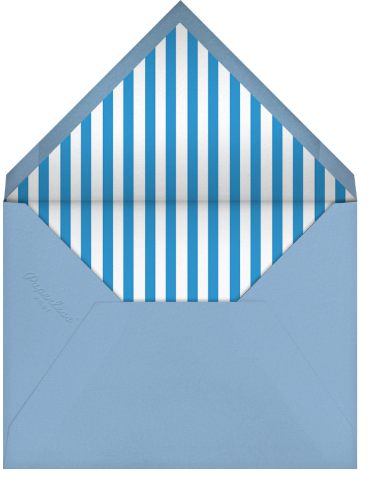 Gradient Border - Blue - Paperless Post - Adult birthday - envelope back