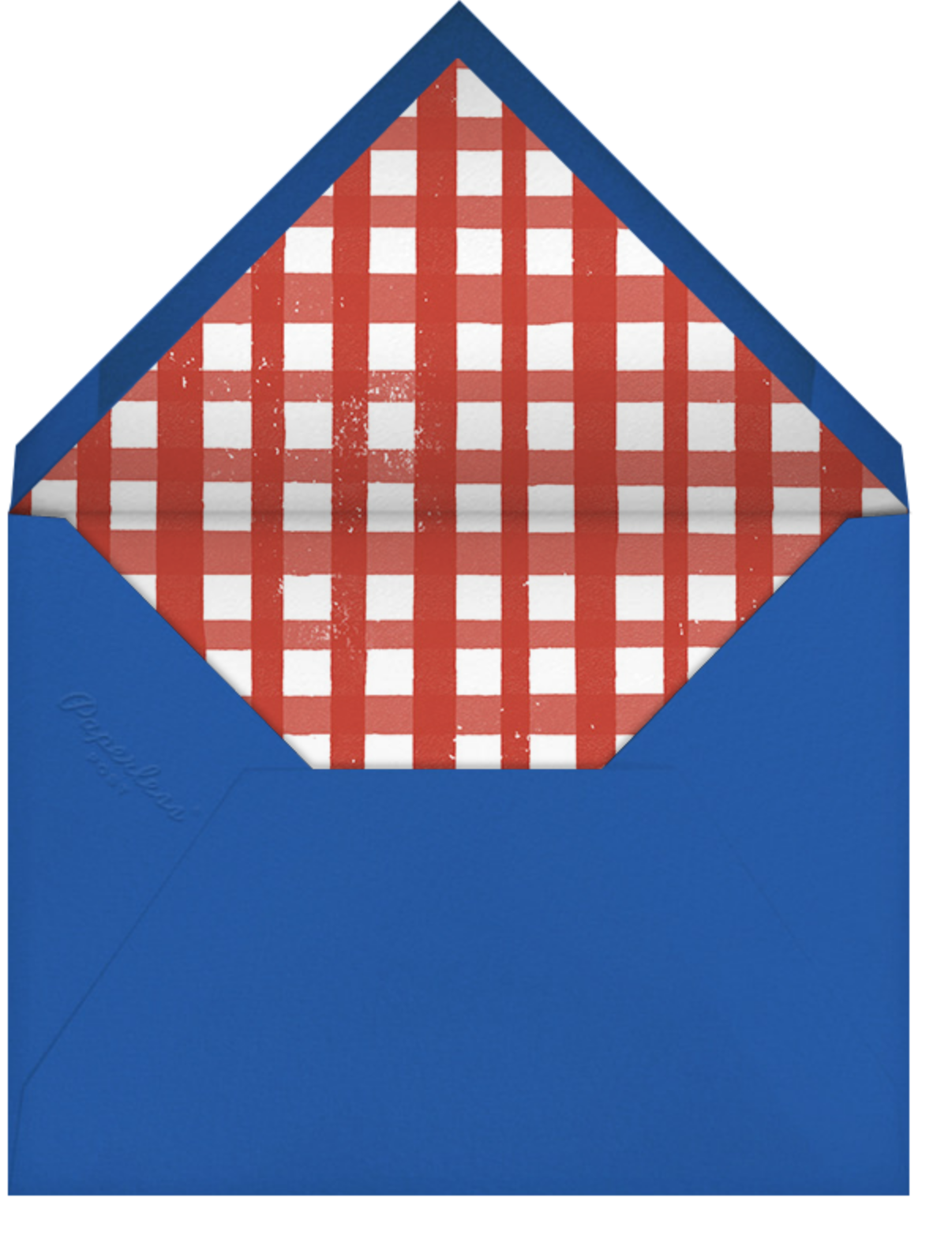 Blueberries - Paperless Post - Barbecue - envelope back