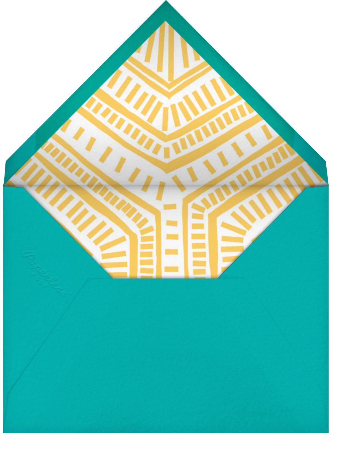 Best Brightest Ever - Crate & Barrel - Kids' birthday - envelope back