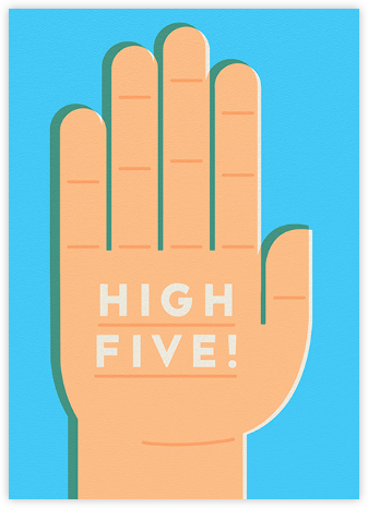 High 5 - The Indigo Bunting - Online Cards