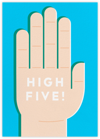 High 5 - Fair - The Indigo Bunting - Congratulations cards