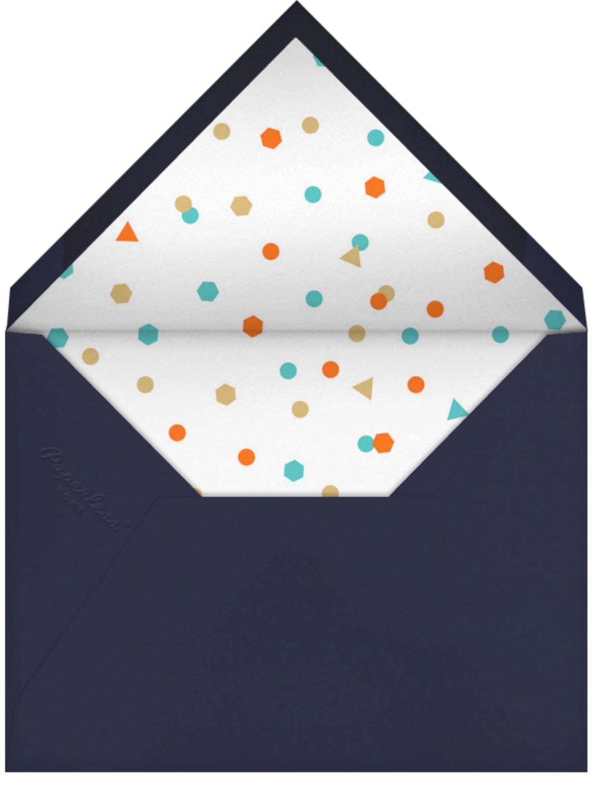 Goodbye Plane - Paperless Post - Retirement party - envelope back