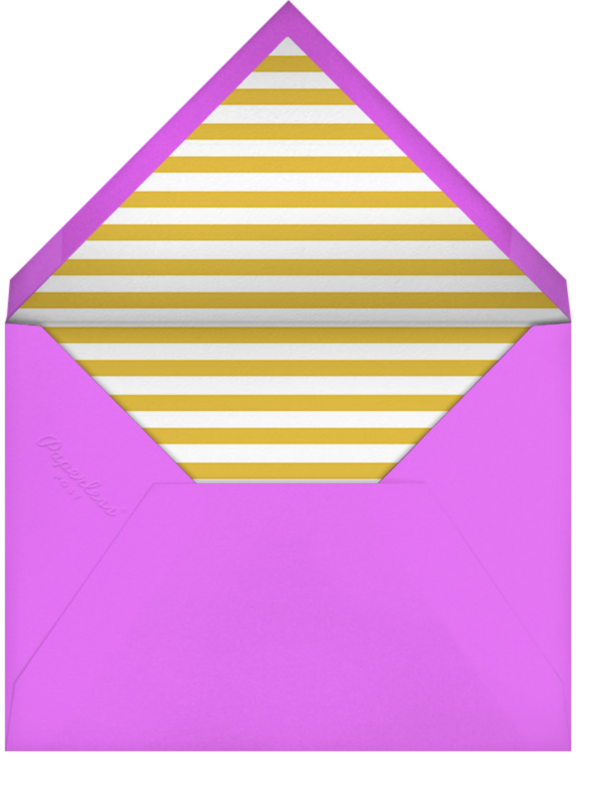 Glam Dinos - Paperless Post - Kids' birthday - envelope back