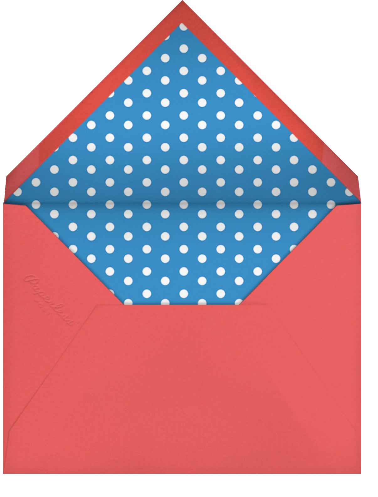Poncho - Paperless Post - Cinco de Mayo - envelope back