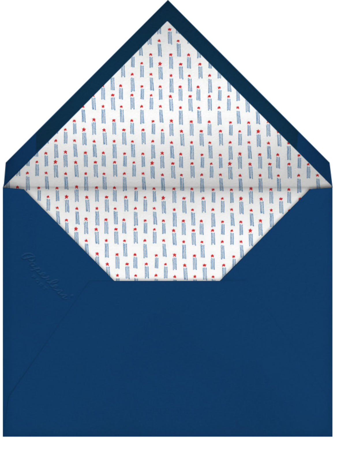 American Wayfarers - Paperless Post - 4th of July - envelope back