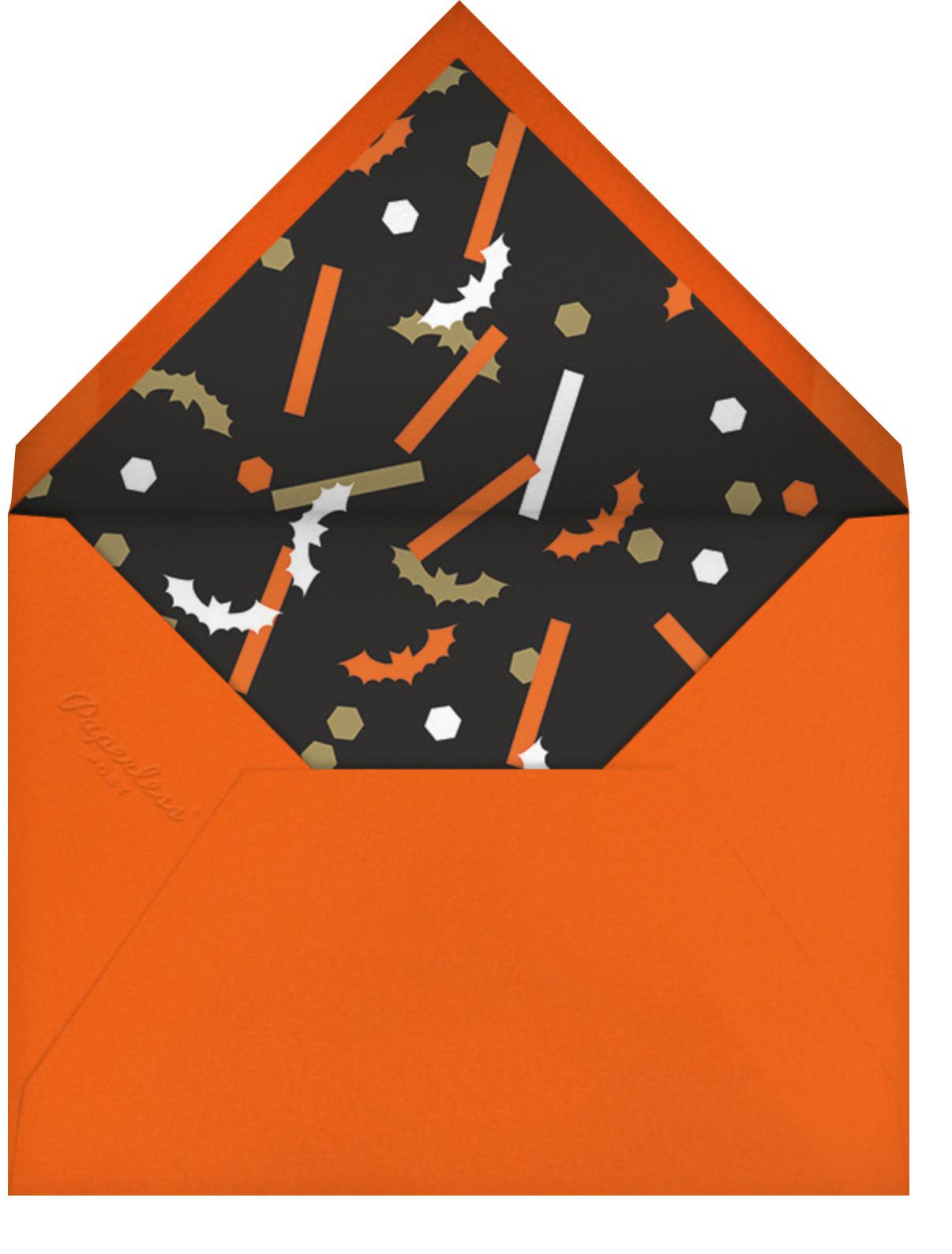 Ghost - Paperless Post - Halloween - envelope back