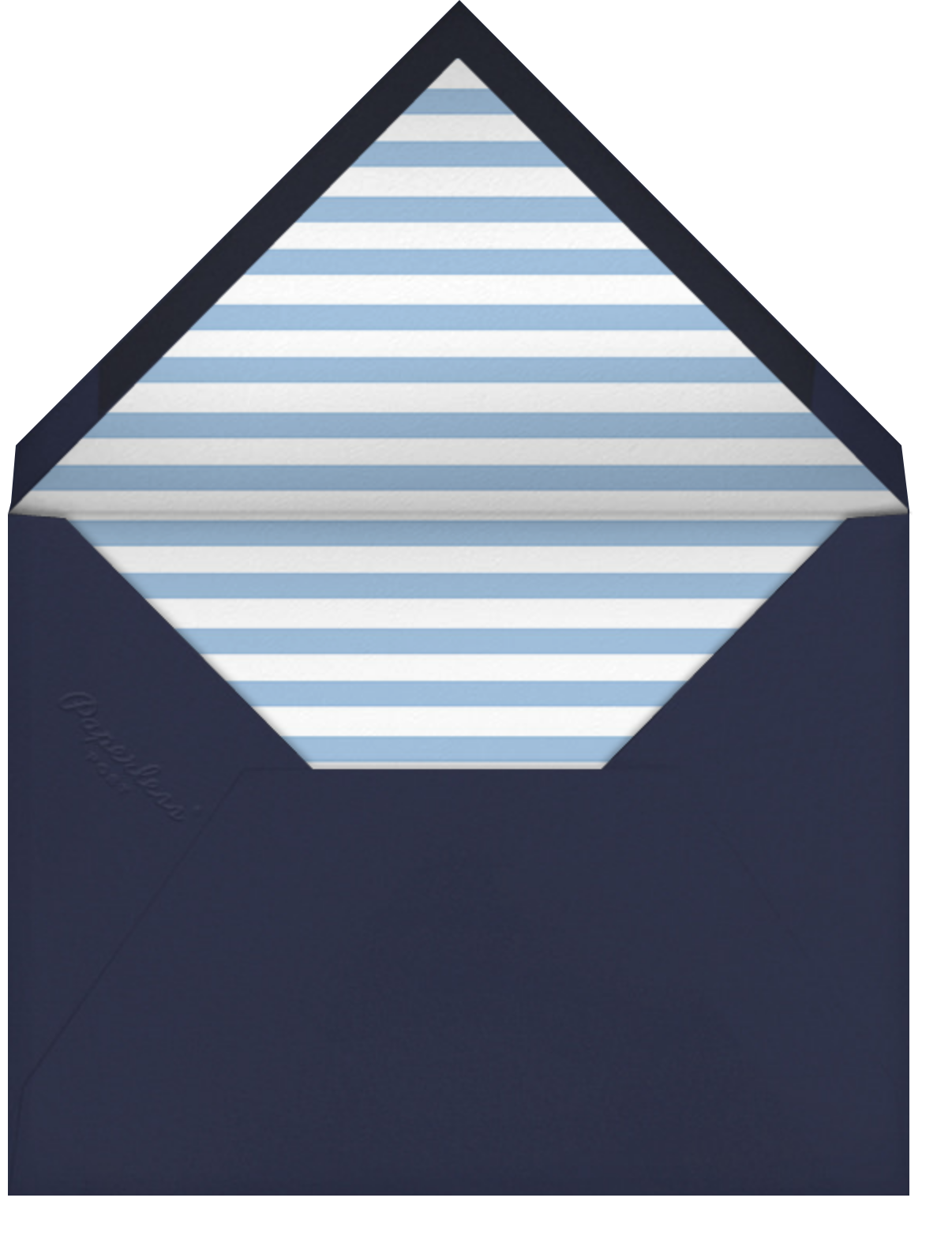 Gradient Messy Strokes - Blue - Paperless Post - Cocktail party - envelope back