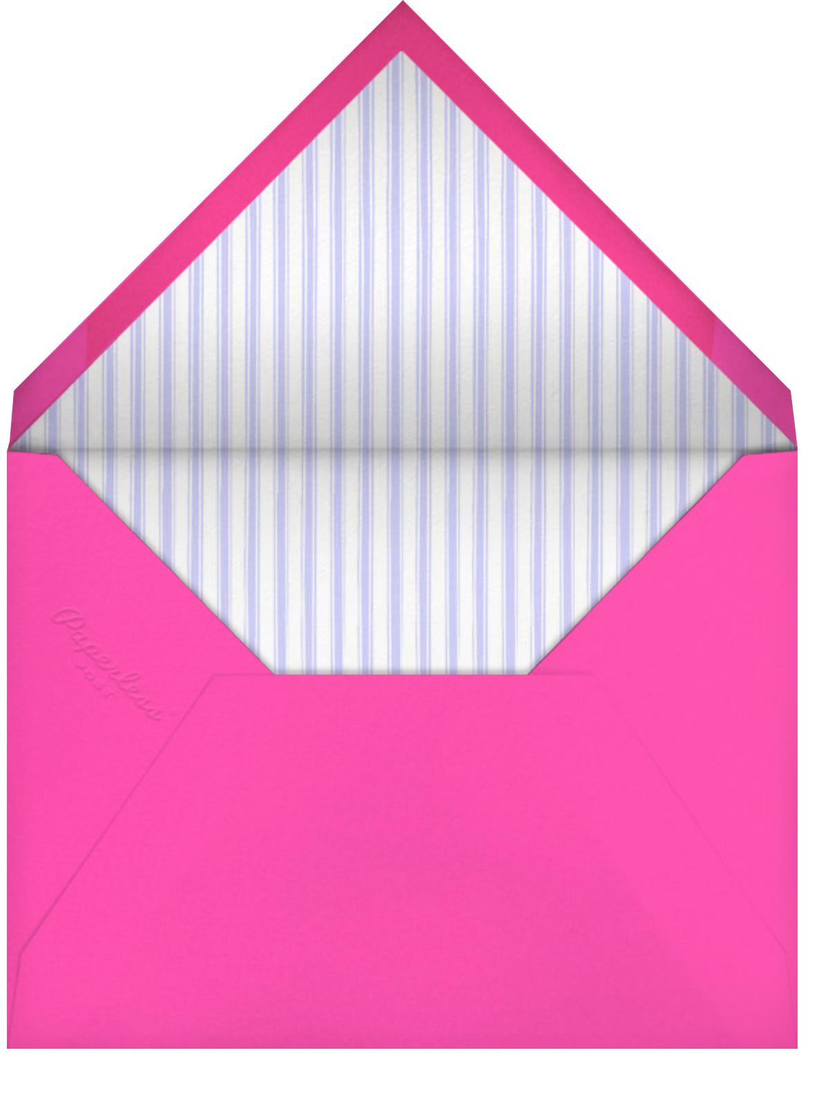 Awning Stripe (Pale Blue) - Paperless Post - Envelope