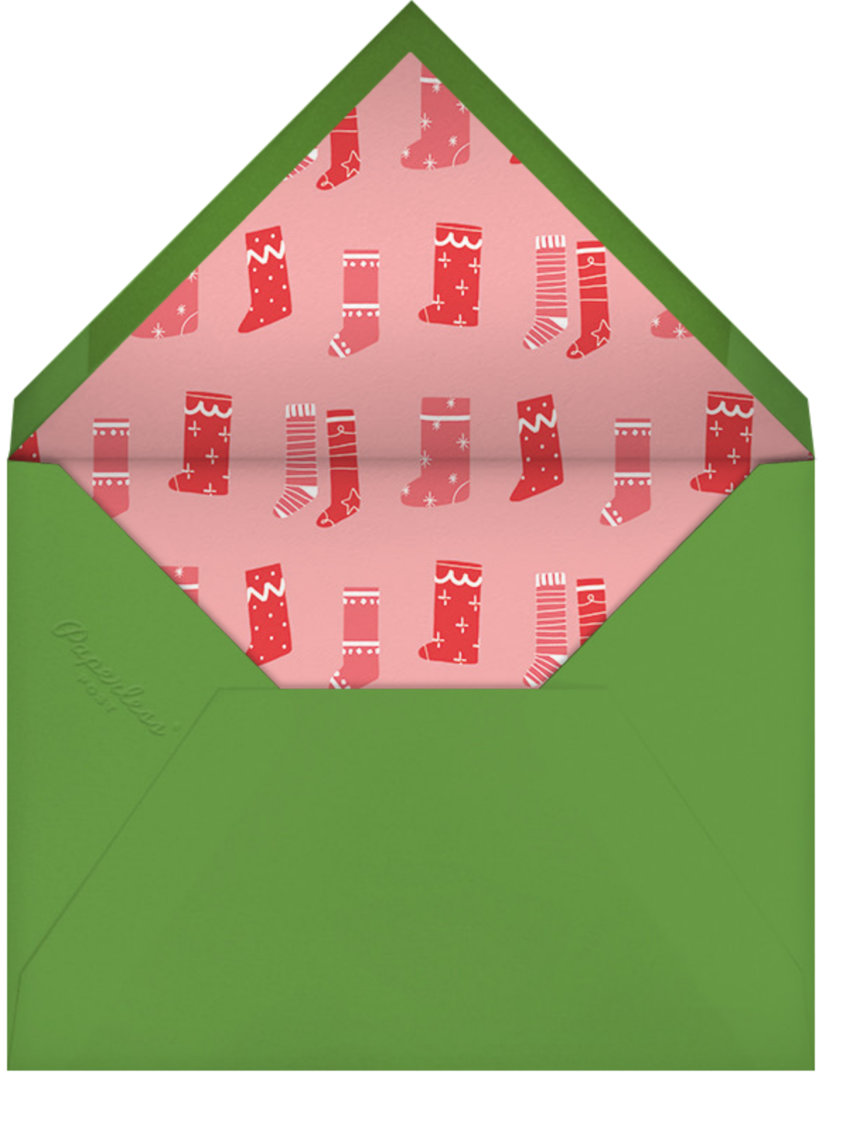Snapshot - Trees - Paperless Post - Christmas party - envelope back