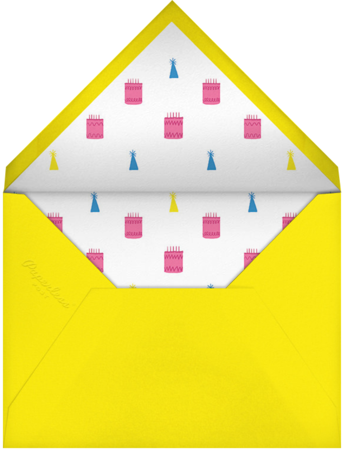 Full-Page Photo (Double-Sided) - Ivory - Paperless Post - Birthday - envelope back