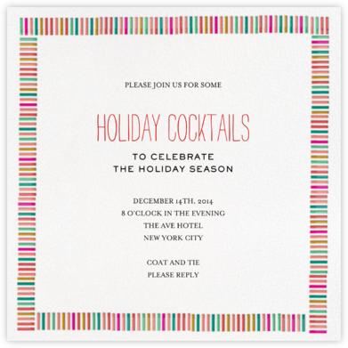 Mini Berlin - Red - Mr. Boddington's Studio - Holiday invitations