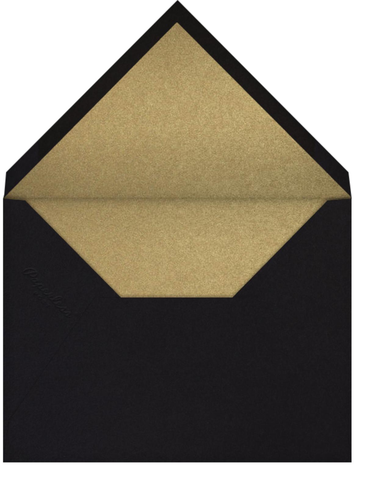 Vegas Bachelor Party - Black - Paperless Post - Envelope