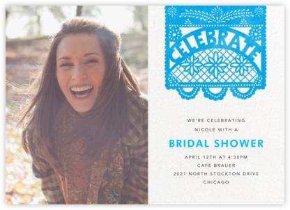 Papel Picado (Photo) - Capri - Paperless Post - Bridal shower invitations
